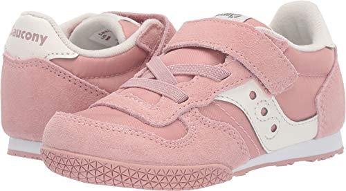 Saucony Kids Girl's Bullet Jr (Toddler/Little Kid) Pink/Cream