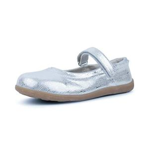 See Kai Run - Jane II Mary Jane Shoes for Kids, Silver