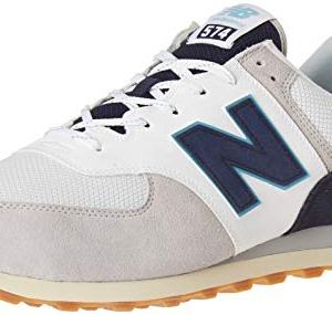 New Balance Men's 574v2 Sneaker, rain Cloud/Pigment, 11 D US