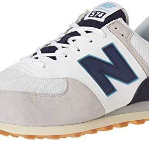 New Balance Men's 574v2 Sneaker, rain Cloud/Pigment, 11 D US