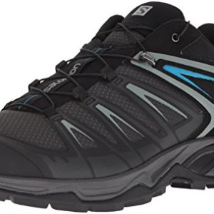 Salomon Men's X Ultra 3 Hiking Shoes, PHANTOM/Black/Hawaiian Surf
