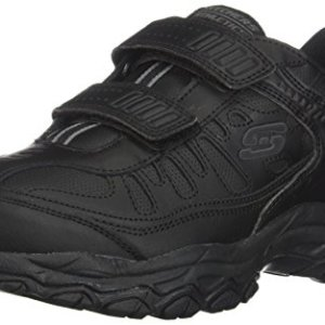 Skechers Men's After Burn Memory Fit - Final Cut Sneaker, Black, 12 4E US