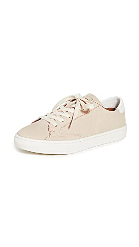 Soludos Women'sIbiza Classic Lace-Up Leather Sneaker Nude