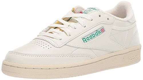 Reebok Women's Club C 85 Sneaker, Chalk/Glen Green/Paper