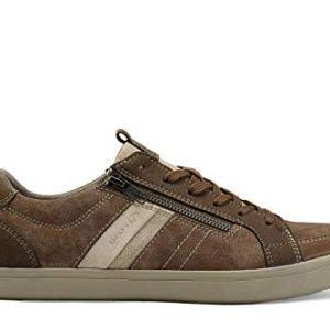 Geox Men HALVER 8 Chocolate Sneakers