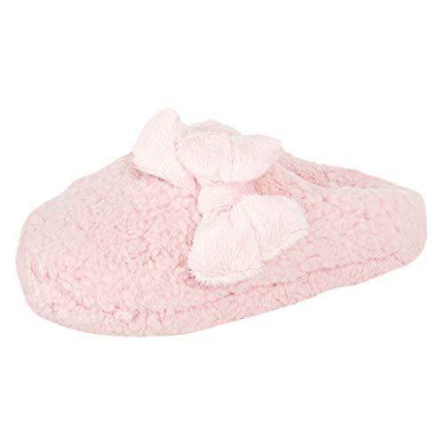 Jessica Simpson Women's Plush Marshmallow Slide On House Slipper