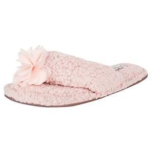 Jessica Simpson Women's Fluffy Plush Slide-On Sandal