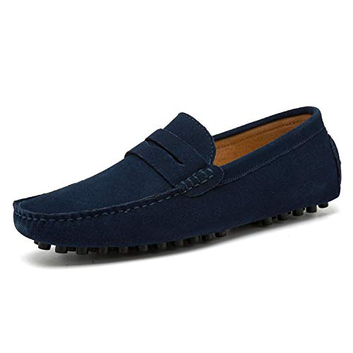 Go Tour Men's Penny Loafers Moccasin Driving Shoes