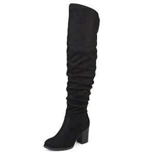 Journee Collection Womens Regular Heel Boots Black