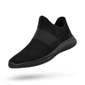 QANSI Mens Running Shoes Slip-on Shoes
