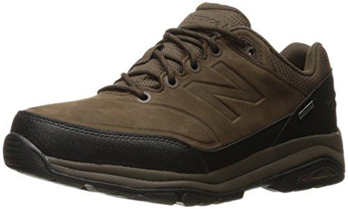 New Balance Walking Shoe, Chocolate Brown/Black