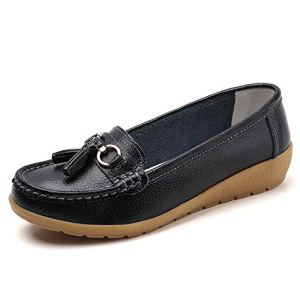 Shoes Loafers for Women Casual Slip-On Boat Shoes