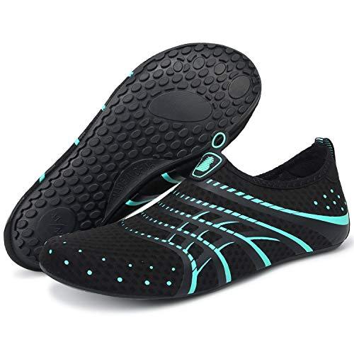 Barerun Women's Men's Quick Drying Aqua Water Shoes