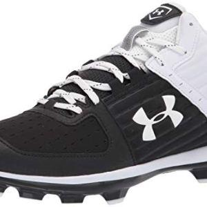 Under Armour Men's Yard Mid TPU Baseball Shoe