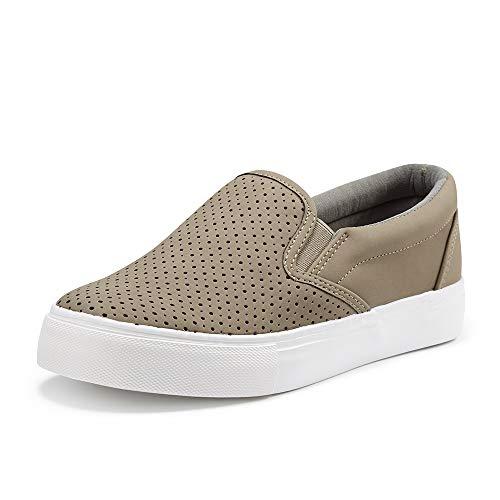 JENN ARDOR Women's Fashion Sneakers Perforated