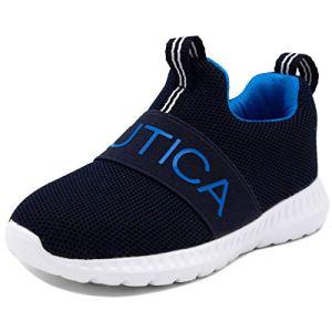 Nautica Kids Boys Fashion Sneaker Slip-On