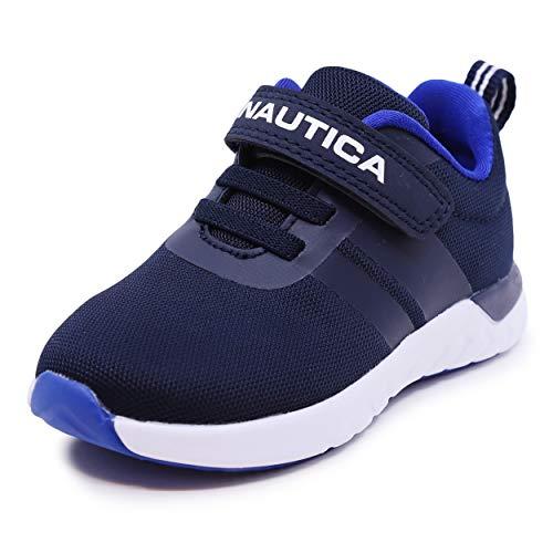 Nautica Kids Boys Fashion Sneaker Athletic Running Shoe