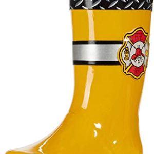 Western Chief boys Waterproof Easy-on Printed Boot Rain Shoe