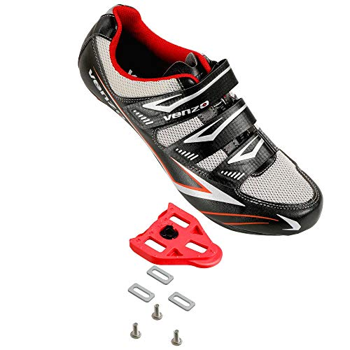 Venzo Bicycle Men's Road Cycling Riding Shoes