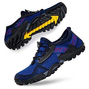 SOBASO Quick-Drying Water Shoes Women Men
