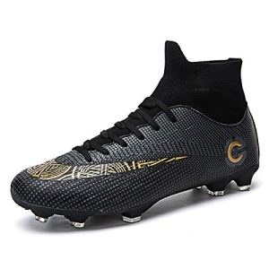 WRY Mens Football Boots Cleats Professional Spikes Soccer