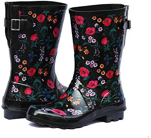 Women's Adjustable Buckle Outdoor Slip Resistant Waterproof