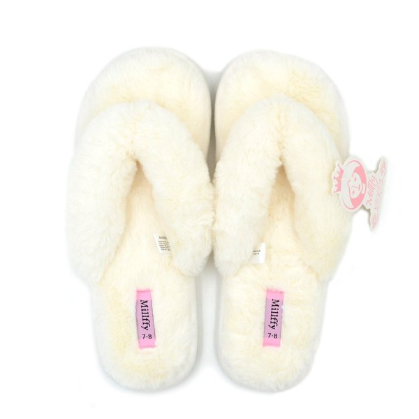 Shoes Fashion Flax Home Lucy Fur Slippers