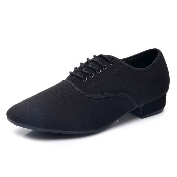 Black Modern Jazz Men Dance Shoes Latin Ballroom Salsa