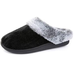 RockDove Women's Crinkle Velvet Slip-On with Memory Foam