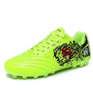 Lynxmko Men's Cleats Soccer Shoes Athletic Lightweight