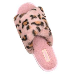Women's Cross Band Soft Plush Slippers