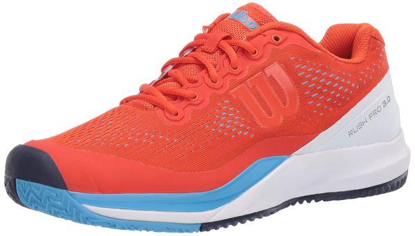 Wilson Footwear mens Rush Pro 3.0 Tennis Shoe