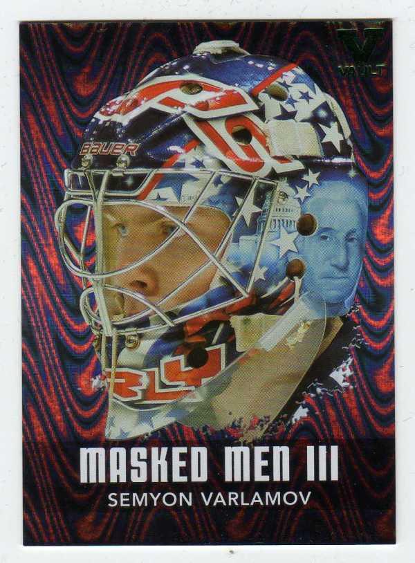 2015-16 ITG Final Vault 10-11 Between the Pipes Masked Men Semyon Varlamov