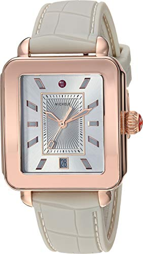 Michele Women's Deco Sport - Gray/Rose Gold One Size
