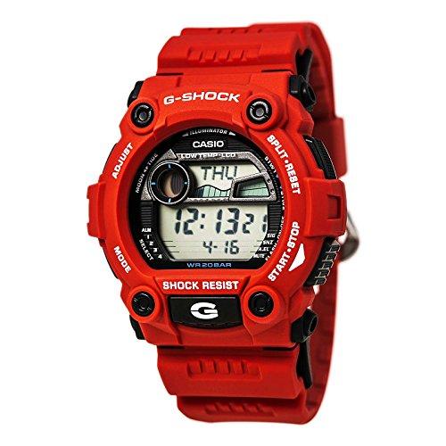 Casio Men's G-Shock Rescue Red Digital Sport Watch
