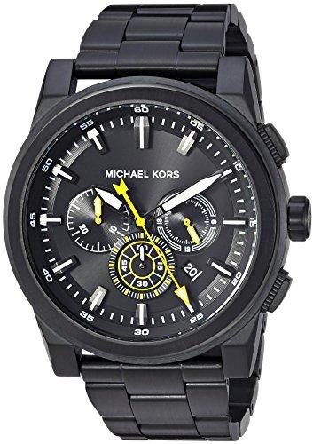 Michael Kors Men's Grayson Analog-Quartz Watch with Stainless-Steel Strap