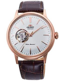 Orient Men's 'Bambino Open Heart' Japanese Automatic Stainless Steel