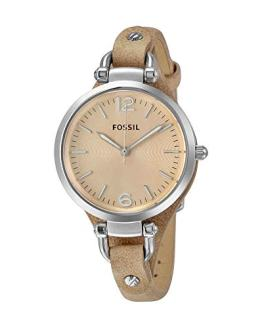 Fossil Women's Georgia Quartz Stainless Steel Casual Watch