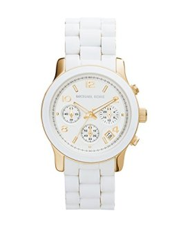 Michael Kors Women's Two Tone Stainless Steel Quartz Chronograph Watch