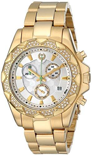 Brillier Women's Swiss Quartz Gold Plated Casual Watch