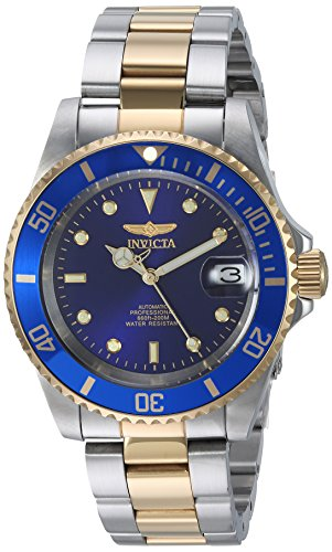 Invicta Men's Gold Stainless Steel Two-Tone Automatic Watch
