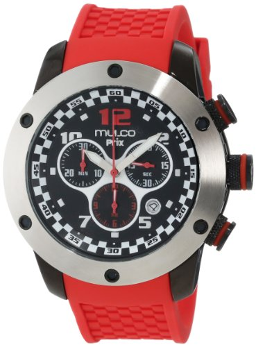 """Mulco Unisex """"Prix"""" Stainless Steel Casual Watch"""