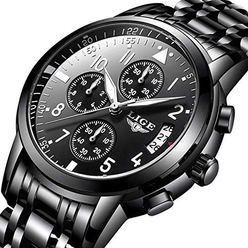 Men Business Watch Chronograph Clock Brand Luxury Fashion