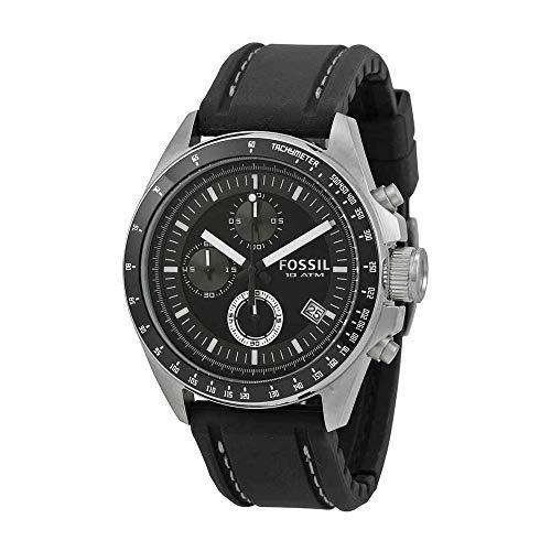 Fossil Men's Decker Stainless Steel Chronograph Watch