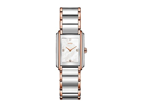 RADO Womens Integral - Two-Tone Silver/Rose Gold One Size