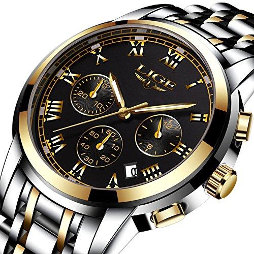 Lige Boy's Quartz Stainless Steel Watch