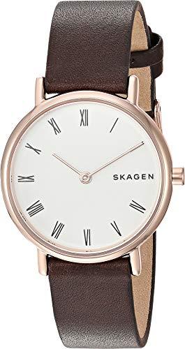 Skagen Women's Signatur Slim Roman - Brown One Size