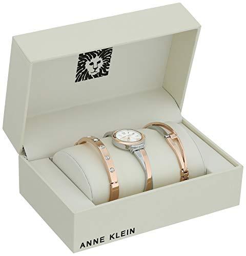 Anne Klein Women's Swarovski Crystal Accented Watch Watch Sizing Guide