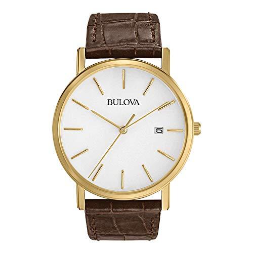 Bulova Men's Gold-Tone Stainless Steel Watch