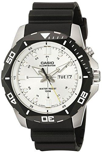 Casio Men's Super Illuminator Diver Digital Display Quartz Black Watch